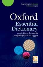 Oxford Essential Dictionary: Indonesian Pack