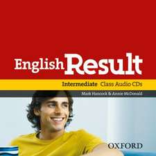 English Result Intermediate: Class Audio CDs (2)
