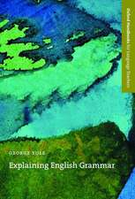 Explaining English Grammar: A guide to explaining grammar for teachers of English as a second or foreign language.