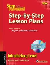 Step Forward Intro: Step-By-Step Lesson Plans with Multilevel Grammar Exercises CD-ROM