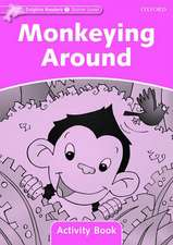 Dolphin Readers Starter Level: Monkeying Around Activity Book