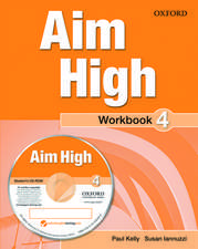 Aim High Level 4 Workbook & CD-ROM: A new secondary course which helps students become successful, independent language learners.
