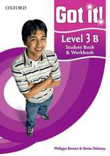 Got it! Level 3 Student Book B and Workbook with CD-ROM: A four-level American English course for teenage learners