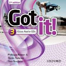 Got it!: Level 3: Class Audio CD (2 Discs)
