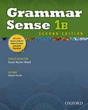 Grammar Sense: 1: Student Book B with Online Practice Access Code Card