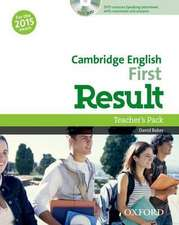 Cambridge English: First Result: Teacher's Pack