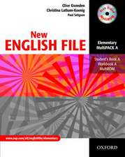 New English File: Elementary: MultiPACK A: Six-level general English course for adults