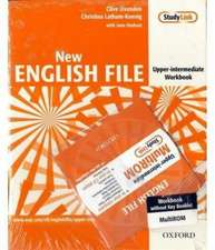 New English File Upper-Intermediate: Workbook with MultiROM Pack: Six-level general English course for adults