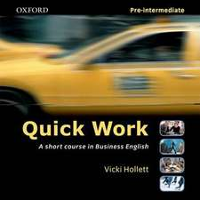 Quick Work Pre-Intermediate: Audio CD