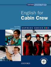 English for Cabin Crew [With CDROM]:  Fully Updated for the International Marketplace [With CDROM]