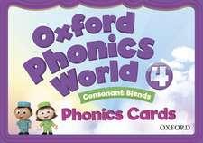 Oxford Phonics World: Level 4: Phonics Cards
