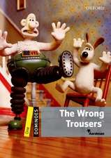 Dominoes: One: The Wrong Trousers Audio Pack