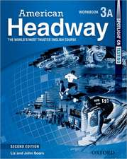 American Headway 3A. Workbook