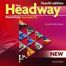 New Headway: Elementary (A1-A2): Class Audio CDs: The world's most trusted English course