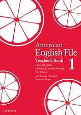 American English File Level 1: Teacher's Book