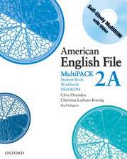 American English File Level 2: Student Book/Workbook Multipack A
