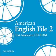 American English File Level 2: Test Generator CD-ROM