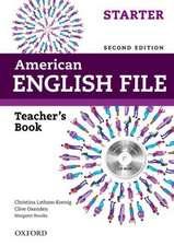 American English File: Starter: Teacher's Book with Testing Program CD-ROM