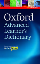 Oxford Advanced Learner's Dictionary, 8th Edition: Paperback with CD-ROM (includes Oxford iWriter)