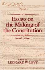 Essays on the Making of the Constitution, 2nd Edition