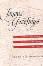 Joyous Greetings: The First International Women's Movement, 1830 - 1860