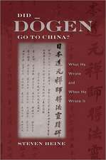 Did Dogen Go to China?: What He Wrote and When He Wrote It