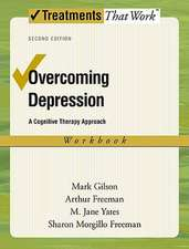 Overcoming Depression: Workbook