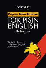 Papua New Guinea Study Dictionary Tok Pisin