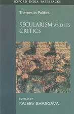 Secularism and Its Critics