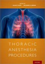 Thoracic Anesthesia Procedures