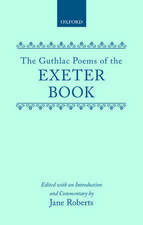 The Guthlac Poems of the Exeter Book