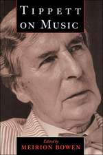 Tippett on Music