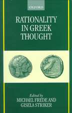 Rationality in Greek Thought