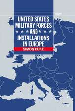 United States Military Forces and Installations in Europe