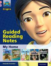 Project X Origins: Pink Book Band, Oxford Level 1+: My Home: Guided reading notes