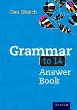Grammar to 14 Answer Book