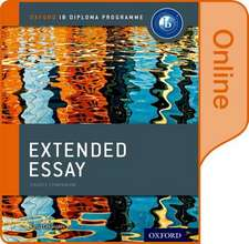 Extended Essay Online Course Book: Oxford IB Diploma Programme
