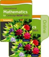 International Maths for Cambridge IGCSE: Print & Online Student Book