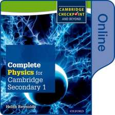 Complete Physics for Cambridge Lower Secondary: Online Student Book