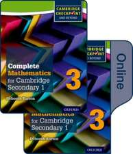 Complete Mathematics for Cambridge Lower Secondary Book 3: Print and Online Student Book
