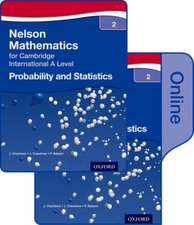 Nelson Probability and Statistics 2 for Cambridge International A Level Print and Online Student Book