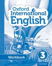Oxford International Primary English Student Workbook 3
