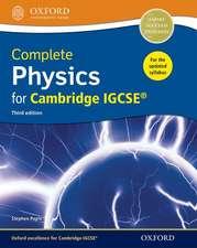 Complete Physics for Cambridge IGCSE®