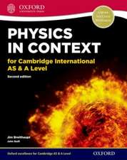 Physics in Context for Cambridge International AS & A Level Student Book