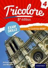 Tricolore 5e édition: Exam Skills for Cambridge IGCSE® Workbook & CD-ROM