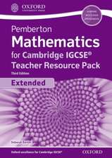 Pemberton Mathematics for Cambridge IGCSE® Teacher Resource Pack