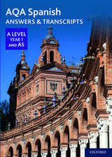 AQA Spanish A Level Year 1 and AS Answers & Transcripts