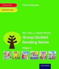 Oxford Reading Tree: Level 2: First Sentences: Group/Guided Reading Notes