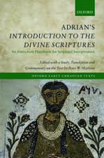 Adrian's Introduction to the Divine Scriptures: An Antiochene Handbook for Scriptural Interpretation