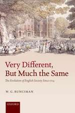 Very Different, But Much the Same: The Evolution of English Society Since 1714